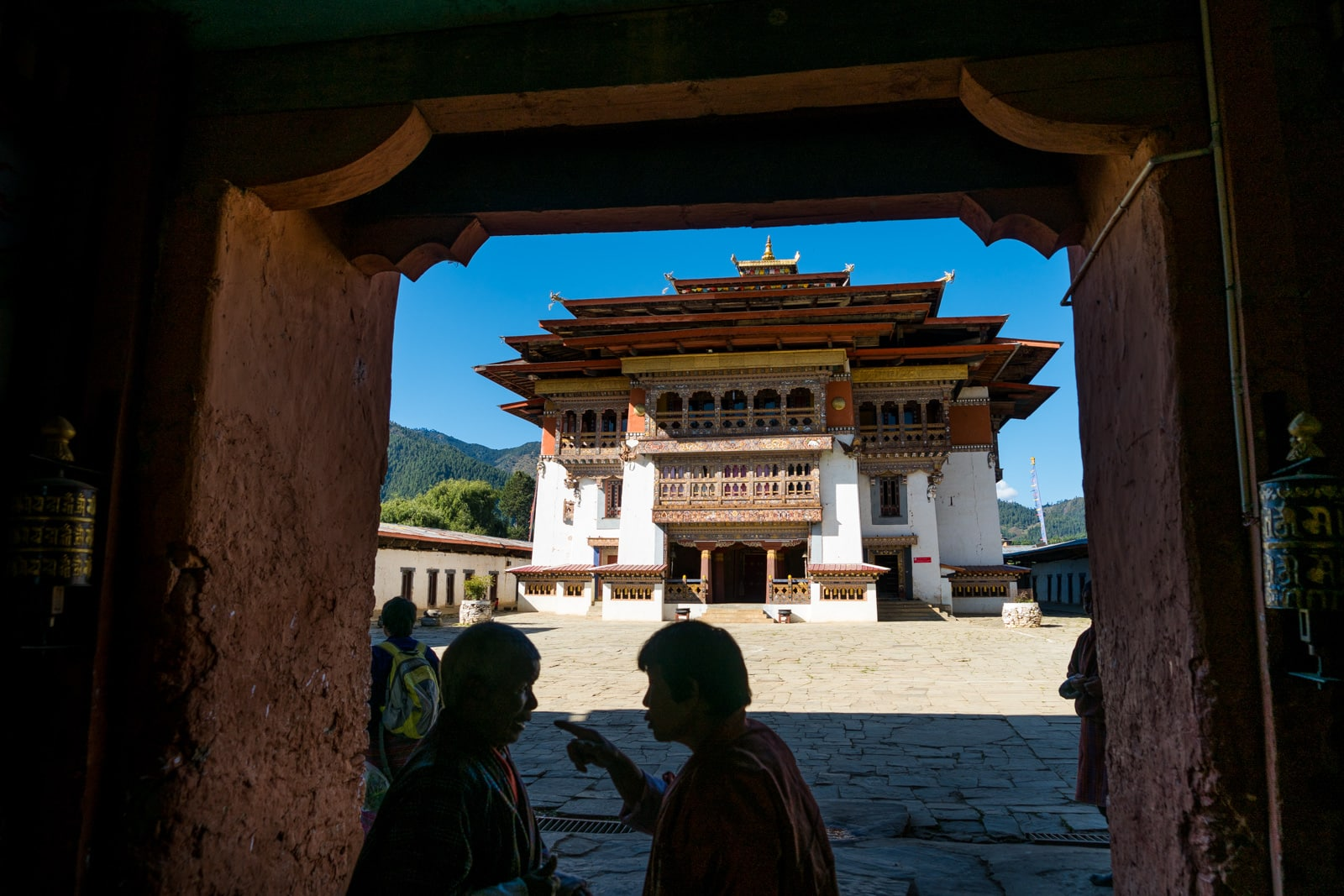 Stunning photos of Bhutan - Gangtey Monastery in Phobjikha Valley - Lost With Purpose travel blog