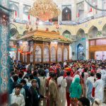 Crowds around the interior of the shrine at the Urs of Lal Shahbaz Qalandar in Sehwan, Pakistan - Lost With Purpose travel blog