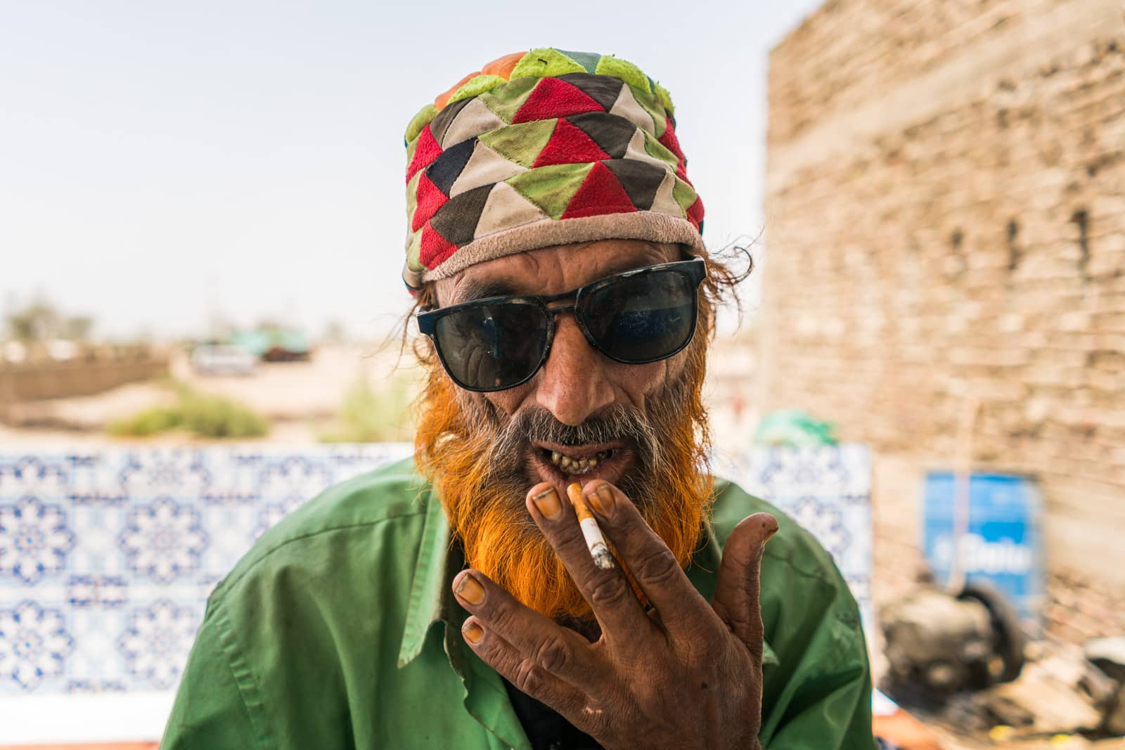 The Urs of Lal Shahbaz Qalandar in Sehwan, Pakistan - Sunglasses and smokes with a fakir - Lost With Purpose travel blog