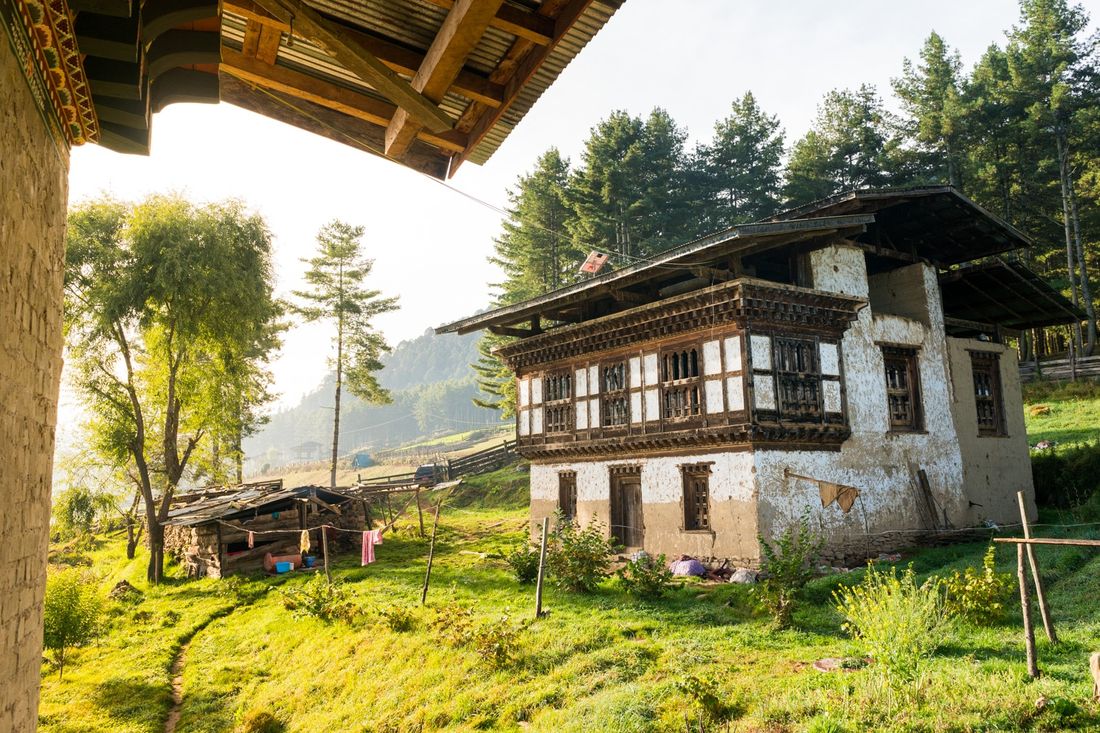 Stunning photos of Bhutan - Farmhouse homestay in Phobjikha Valley - Lost With Purpose travel blog