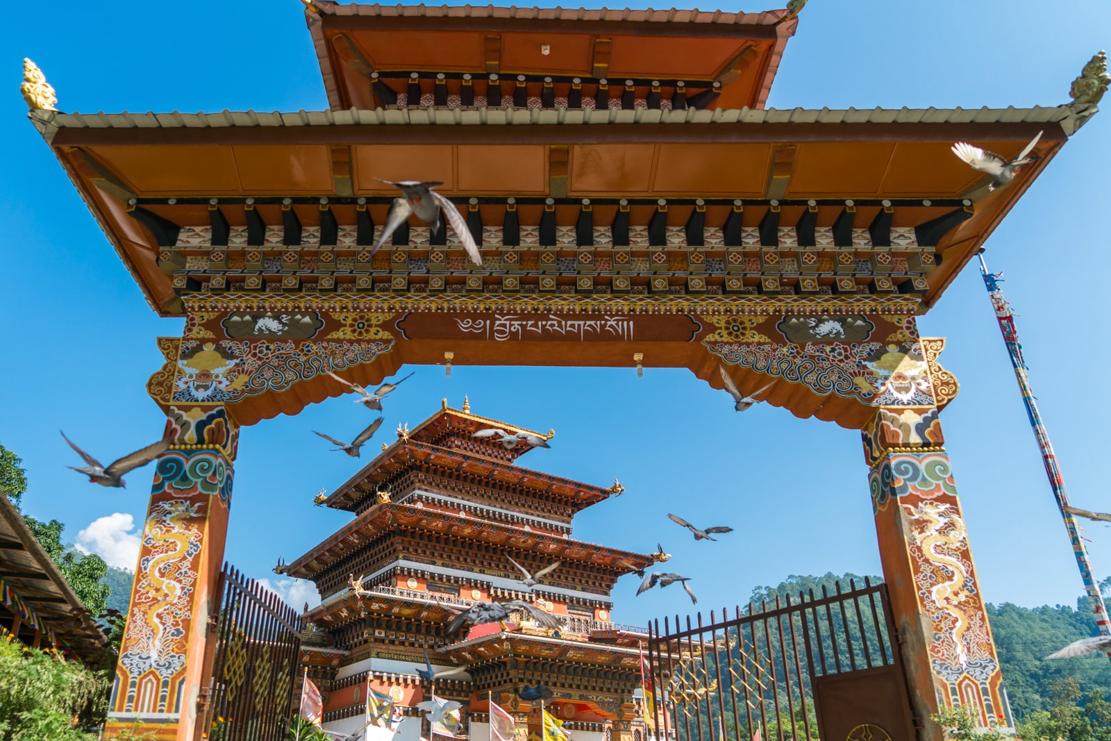 Stunning photos of Bhutan - New temple in Tingtibi, Zhemgang district - Lost With Purpose