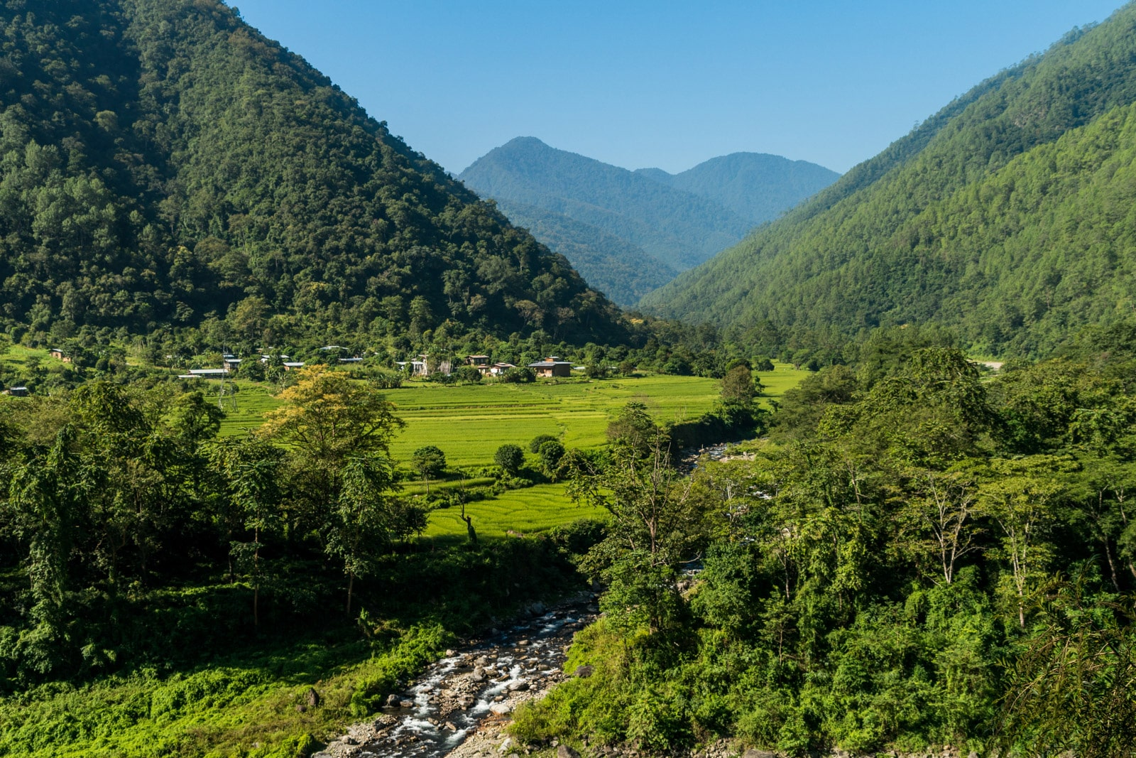 Stunning photos of Bhutan - Birtii village, Zhemgang district - Lost With Purpose travel blog
