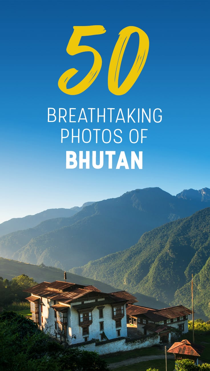 Thinking about a trip to Bhutan? Let these 50 photos of Bhutan serve as inspiration for your travels! These are 50 of my favorite photos from more than 3 weeks in Bhutan, both on and off the beaten track. Click through for more stunning photos of Bhutan.