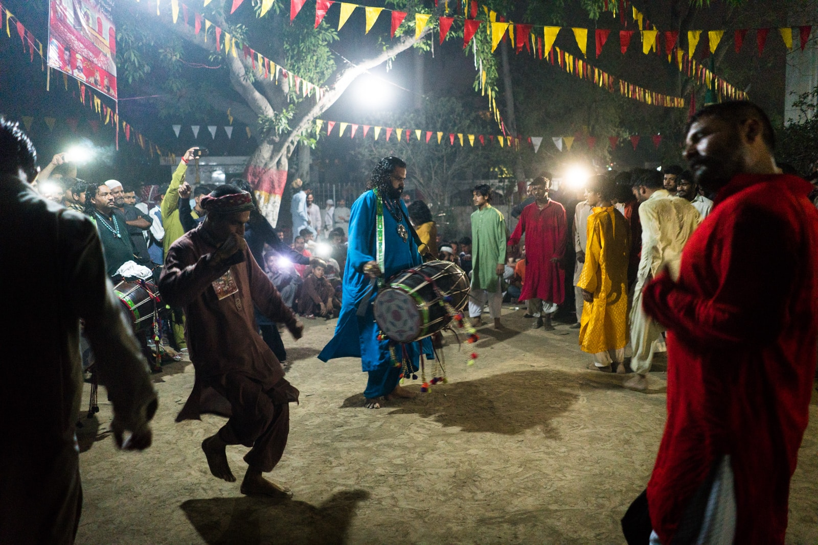 Pakistan bucket list - Sufis dancing to dhamaal at the Madhu Lal Hussain shrine in Lahore - Lost With Purpose travel blog