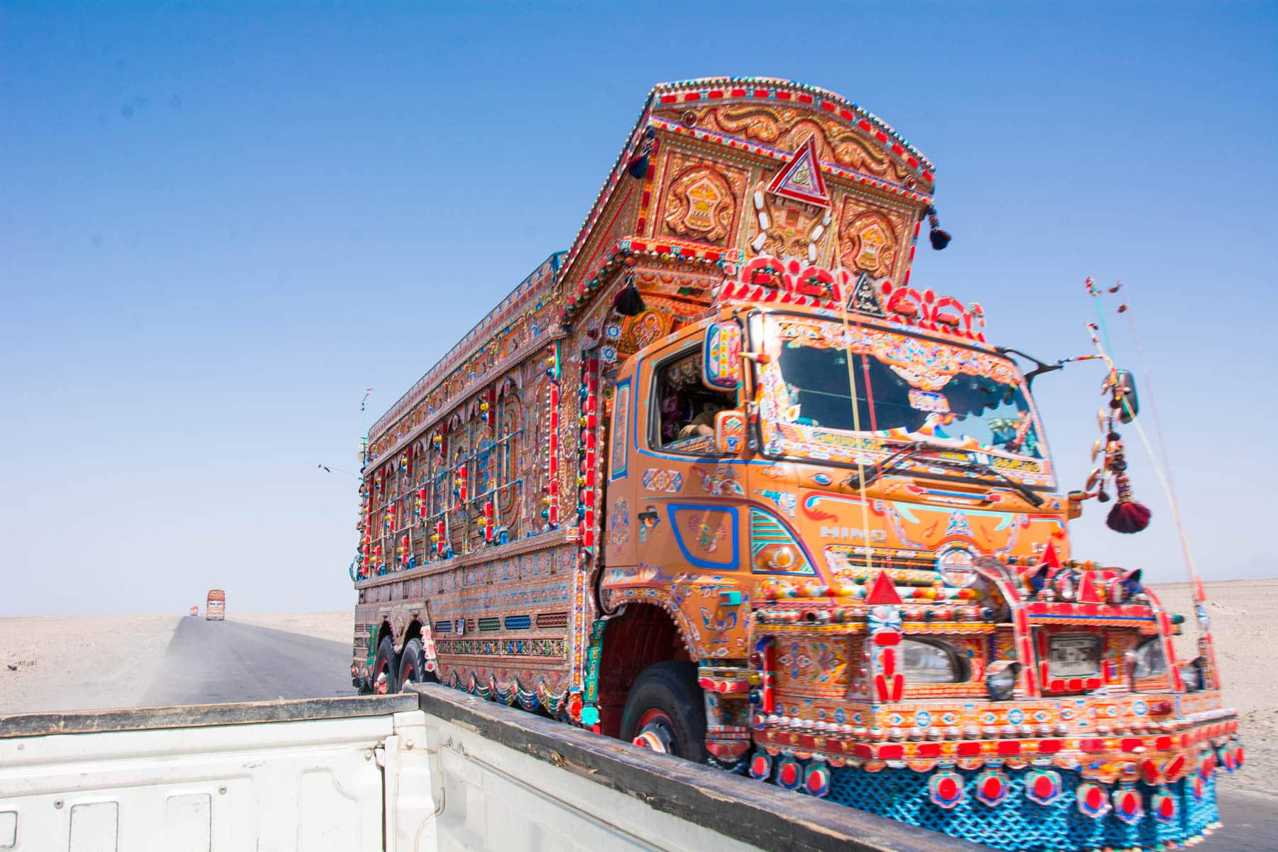 Pakistan bucket list - Truck art in Balochistan - Lost With Purpose travel blog
