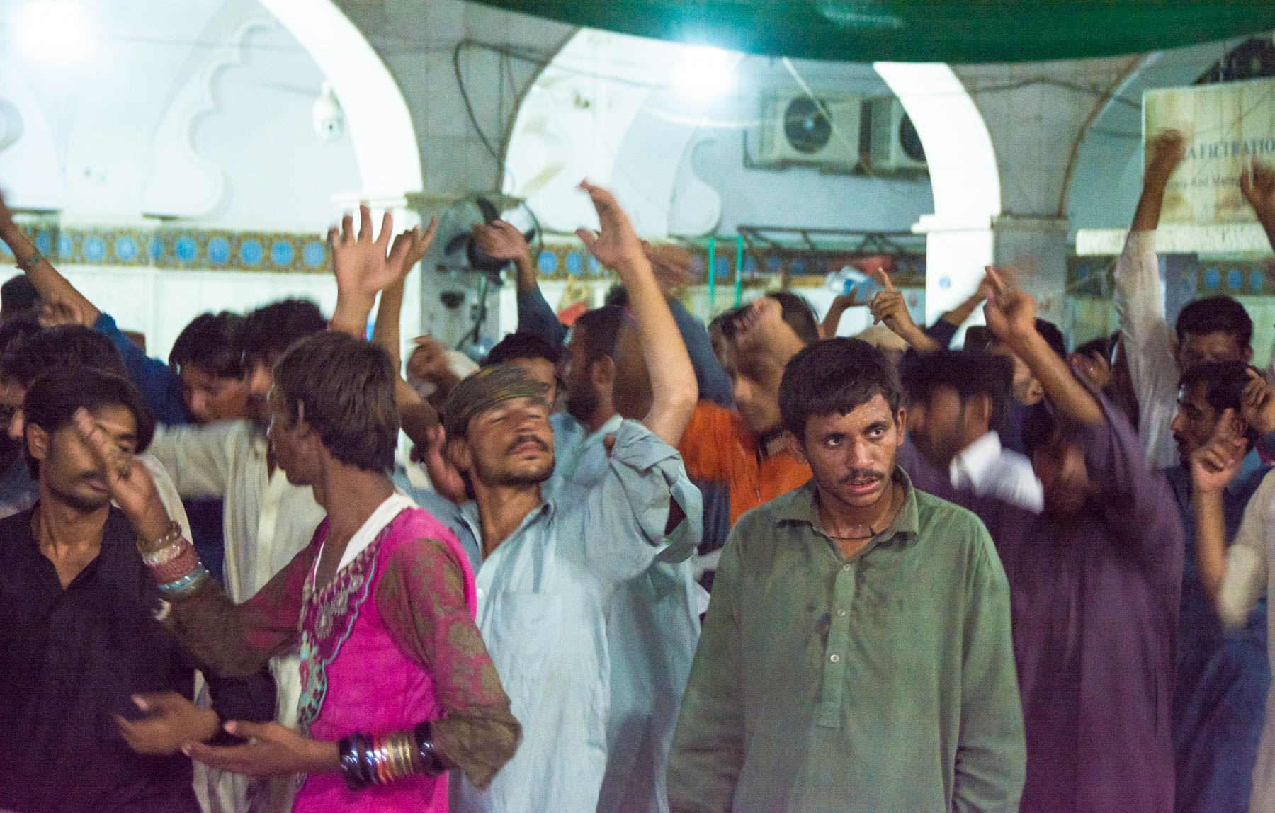 Experiences for your Pakistan bucket list - Dhamaal at the shrine of Lal Shahbaz Qalandar in Sehwan Sharif - Lost With Purpose travel blog