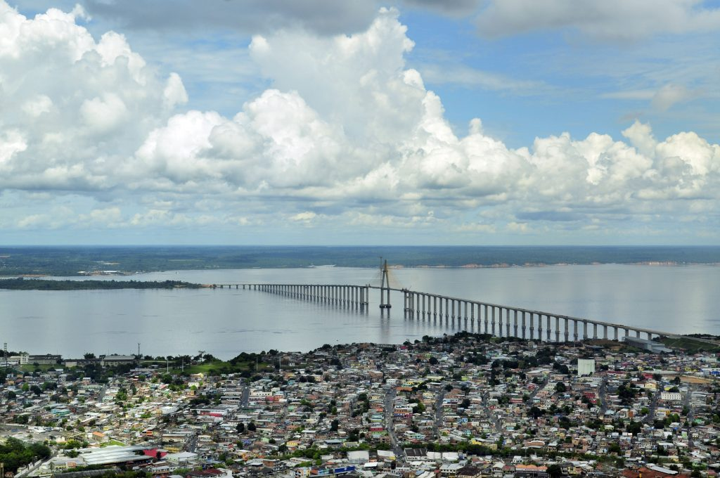 Manaus, capital of Brazil's Amazonas state by Neil Palmer of CIAT