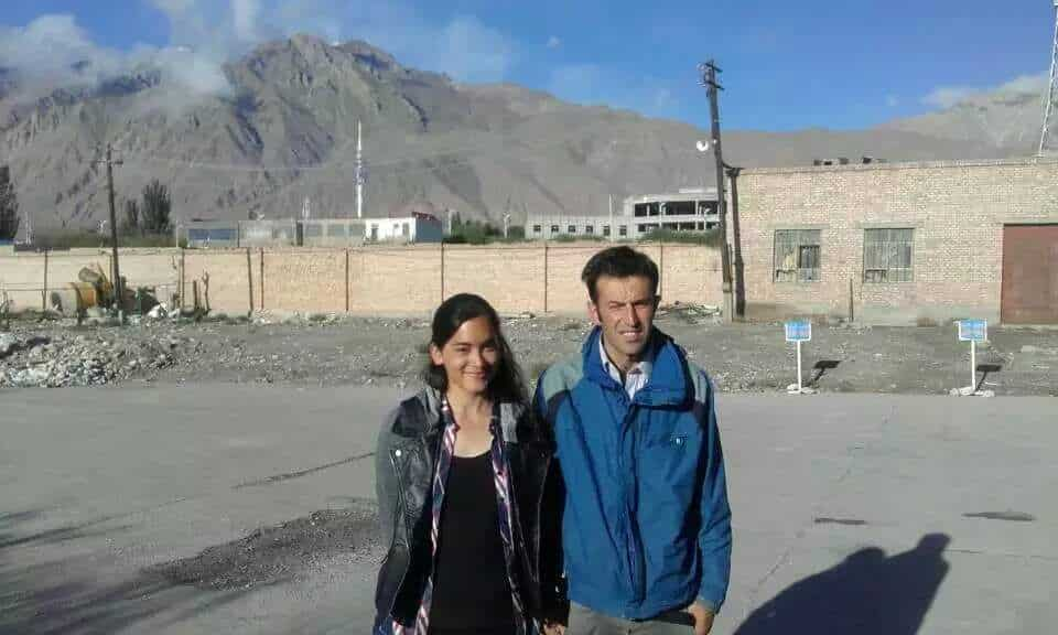 Homestay in Pakistan - Alex and Rehman in Tashkurgan, China in 2016 - Lost With Purpose travel blog