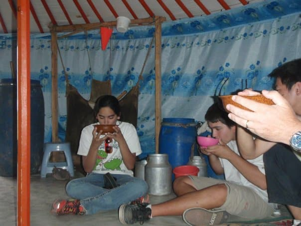 About Lost With Purpose - Yak milk in Mongolia in 2008