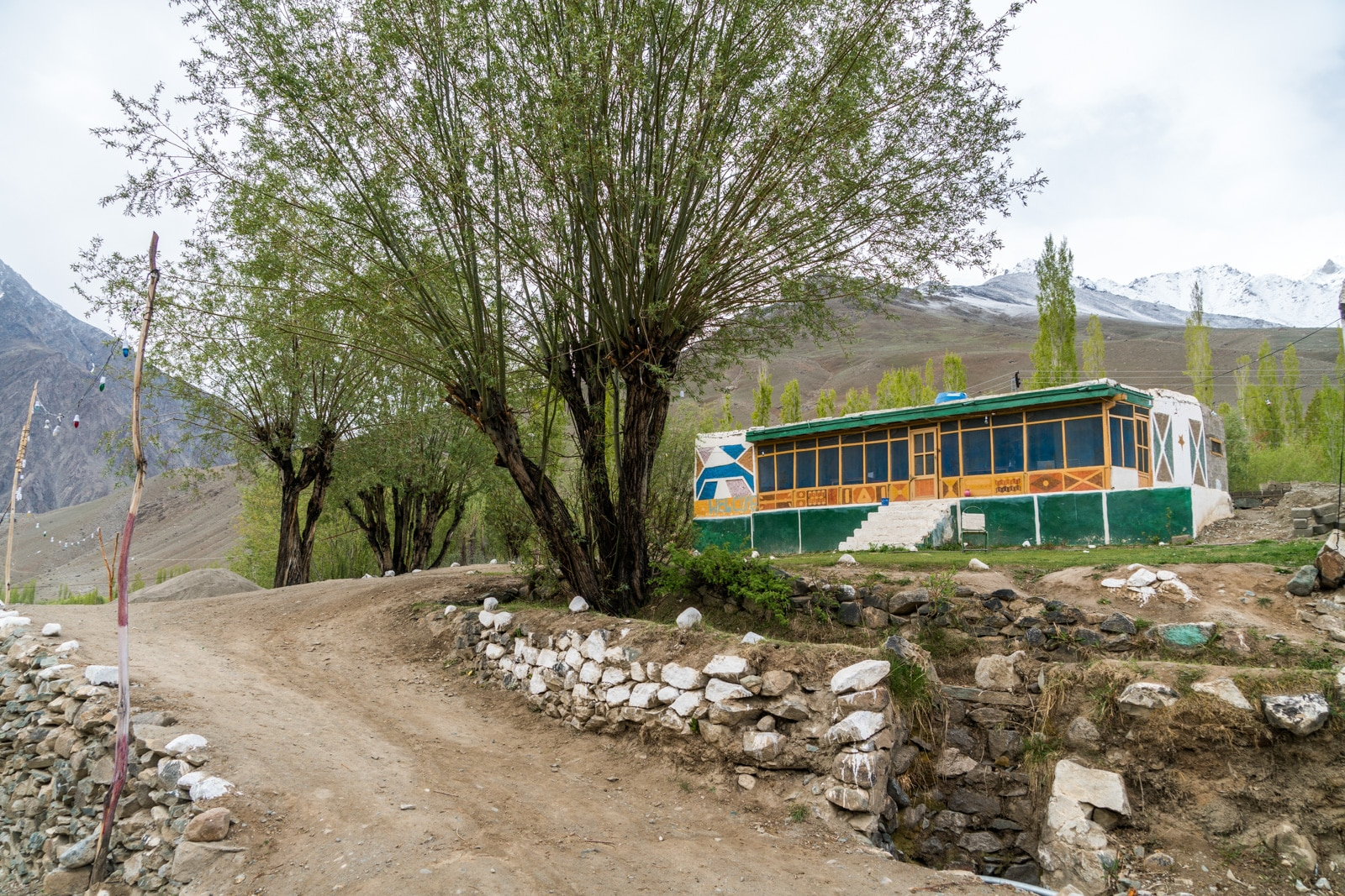 Phander Valley travel guide - Lake View Hotel Phander - Lost With Purpose travel blog
