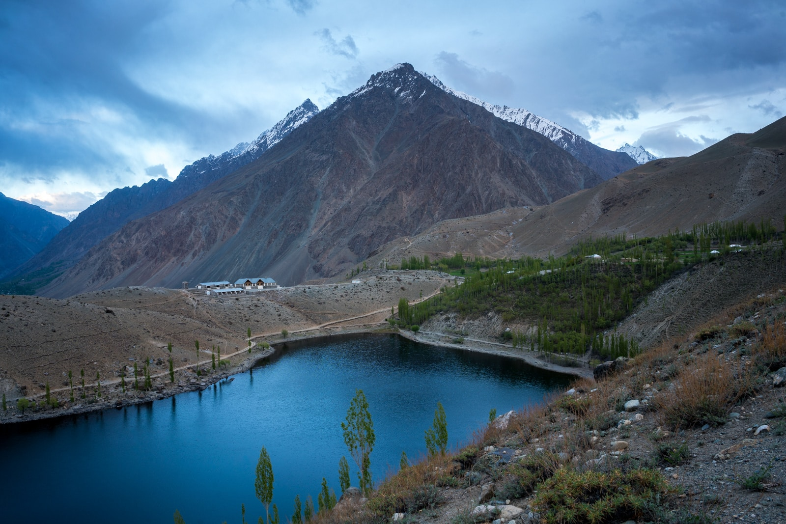 Phander Valley travel guide - A view of the PTDC Phander, Pakistan - Lost With Purpose travel blog
