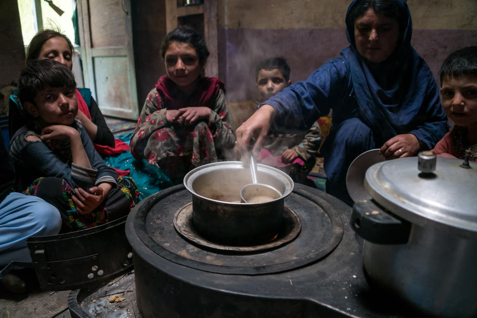 Phander Valley travel guide - Making tea in someone's home - Lost With Purpose travel blog