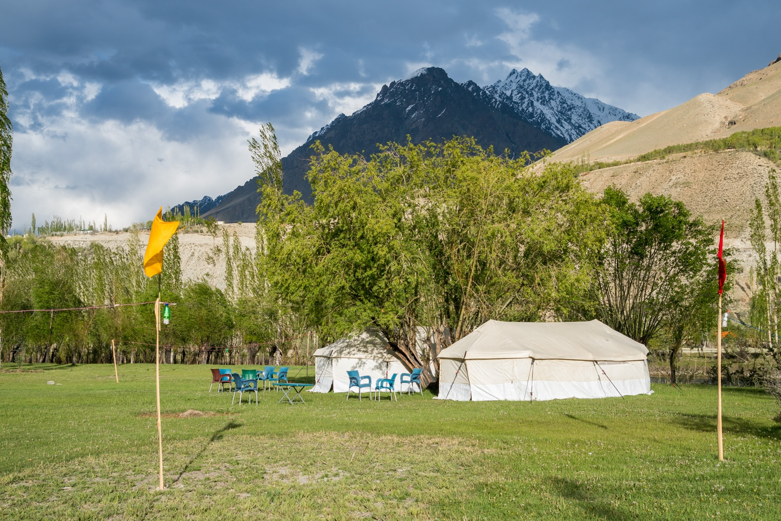 Phander Valley travel guide - Tent camp in Phander - Lost With Purpose travel blog