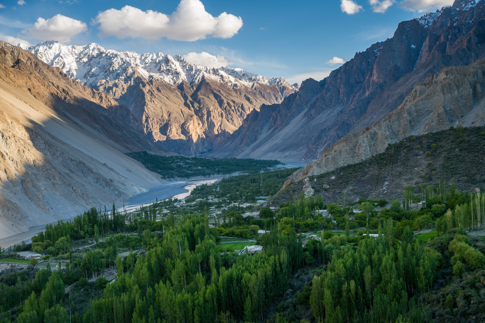Homestay in Pakistan - Sunset views from Ghulkin - Lost With Purpose travel blog