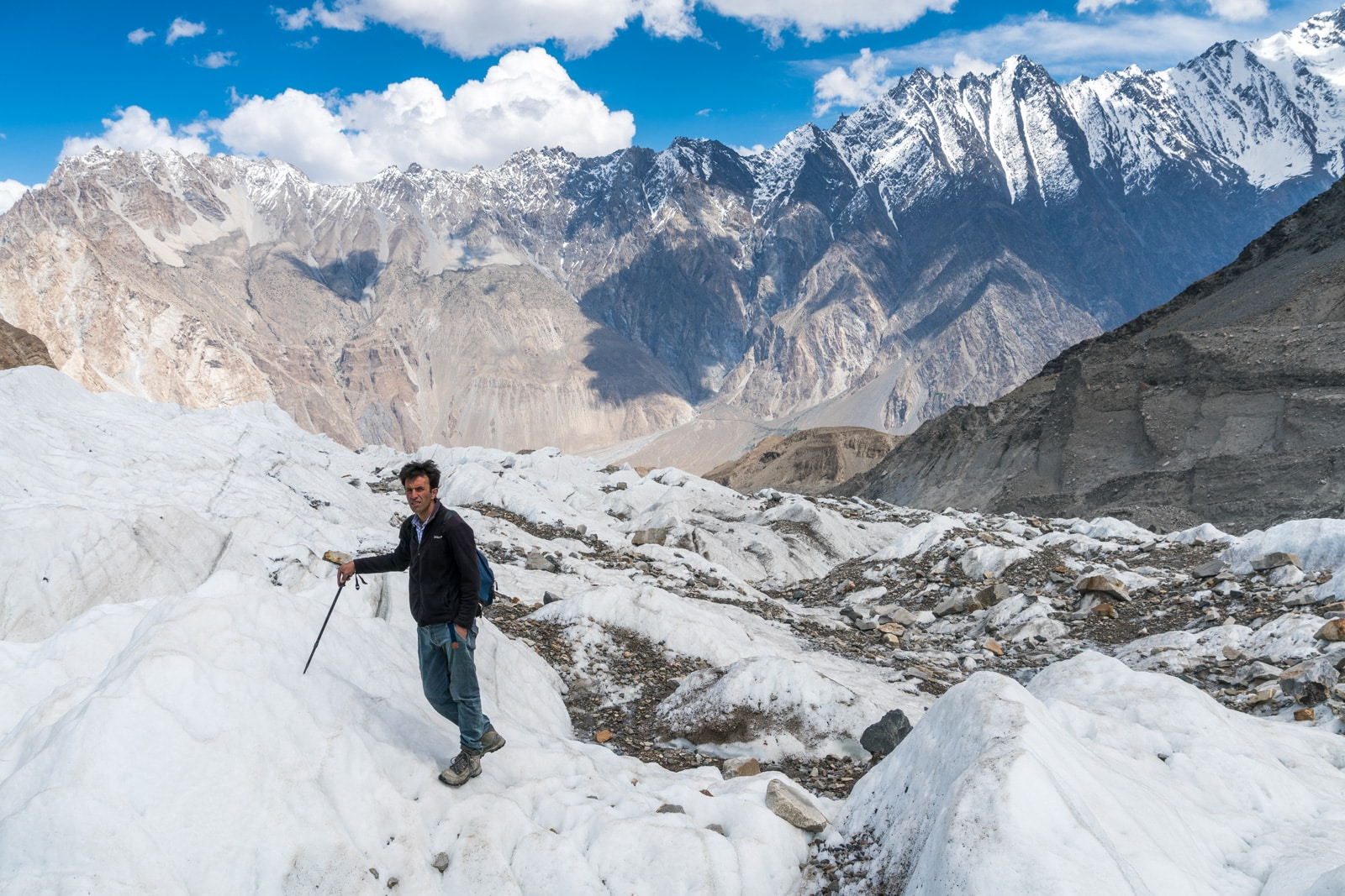 Homestay in Pakistan - Rehman on the white glacier - Lost With Purpose travel blog