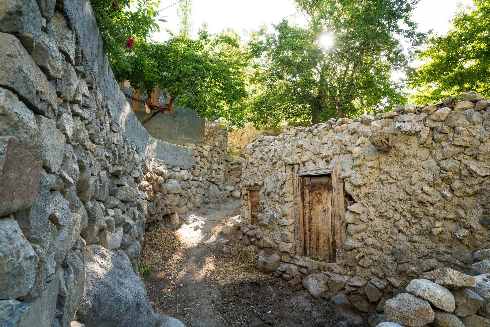Homestay in Pakistan - Traditional stone home in Ghulkin - Lost With Purpose travel blog