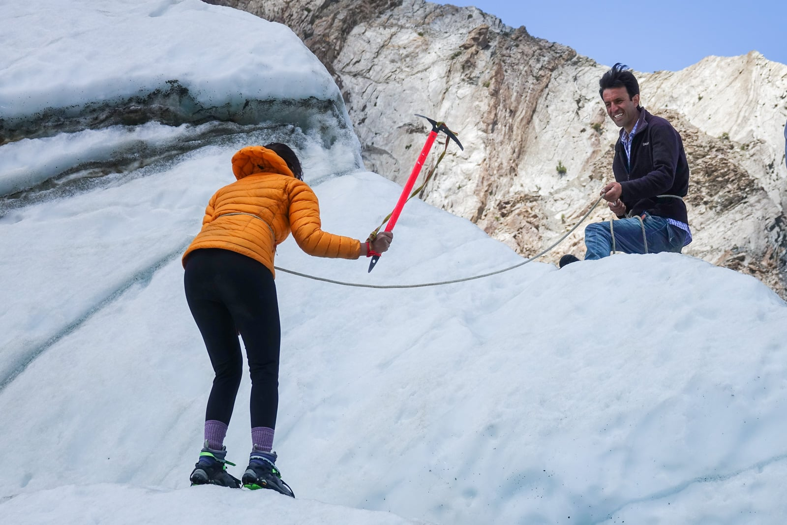 Homestay in Pakistan - Ice climbing in Gilgit Baltistan - Lost With Purpose travel blog