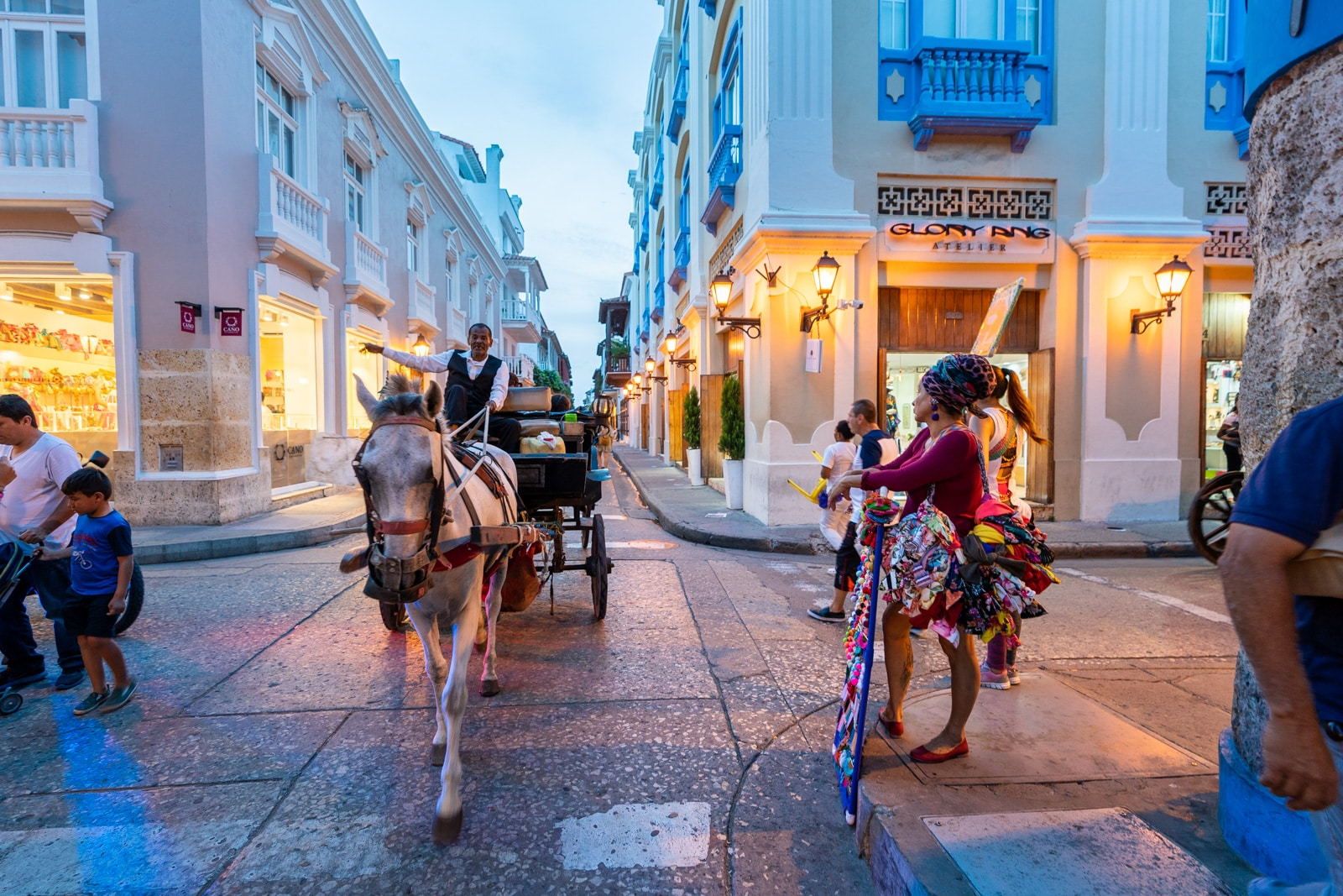 Reverse culture shock from long-term travel - Streets of Cartagena, Colombia - Lost With Purpose travel blog