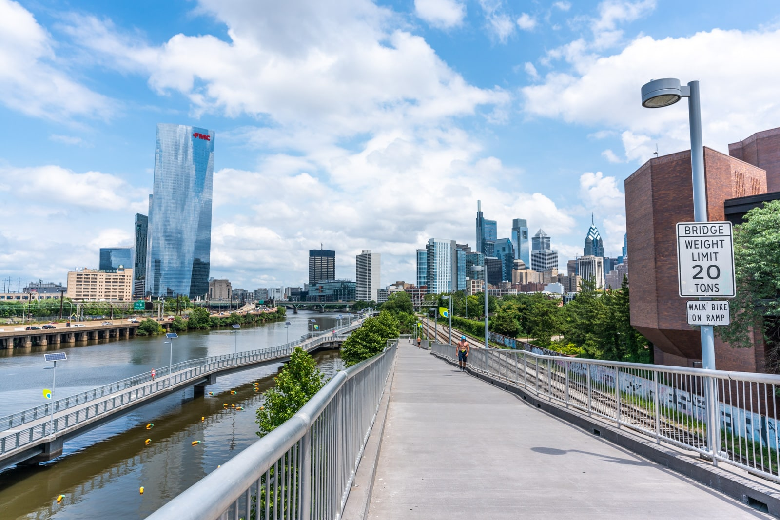 Reverse culture shock from long-term travel - Philadelphia River Walkway - Lost With Purpose travel blog