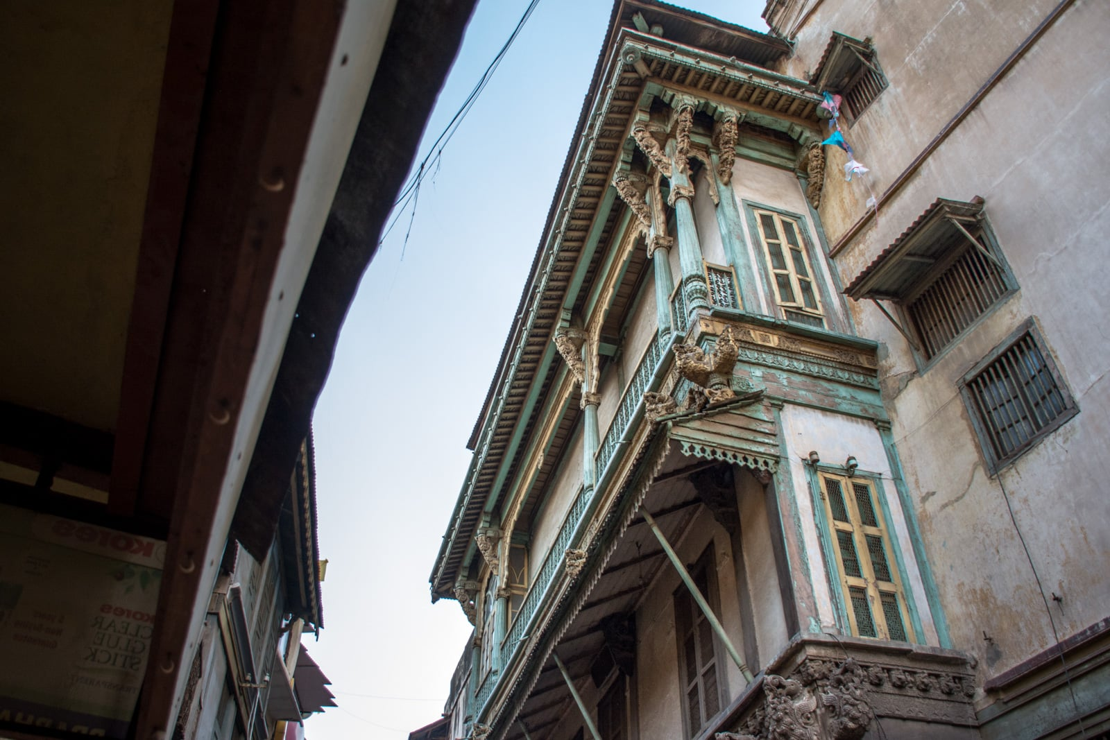 A traditional wooden house in the UNESCO old city