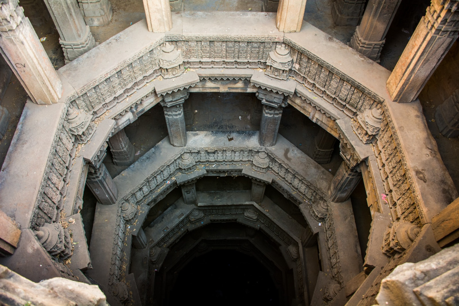 Weekend guide to Ahmedabad, Gujarat, India - Depths of Dada Harir Stepwell - Lost With Purpose travel blog