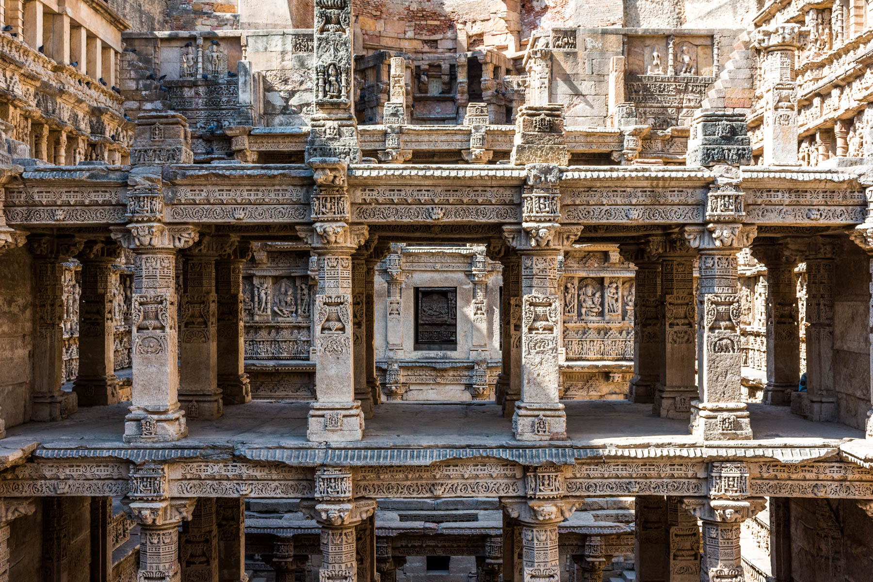 UNESCO listed Rani ki Vav stepwell in Patan