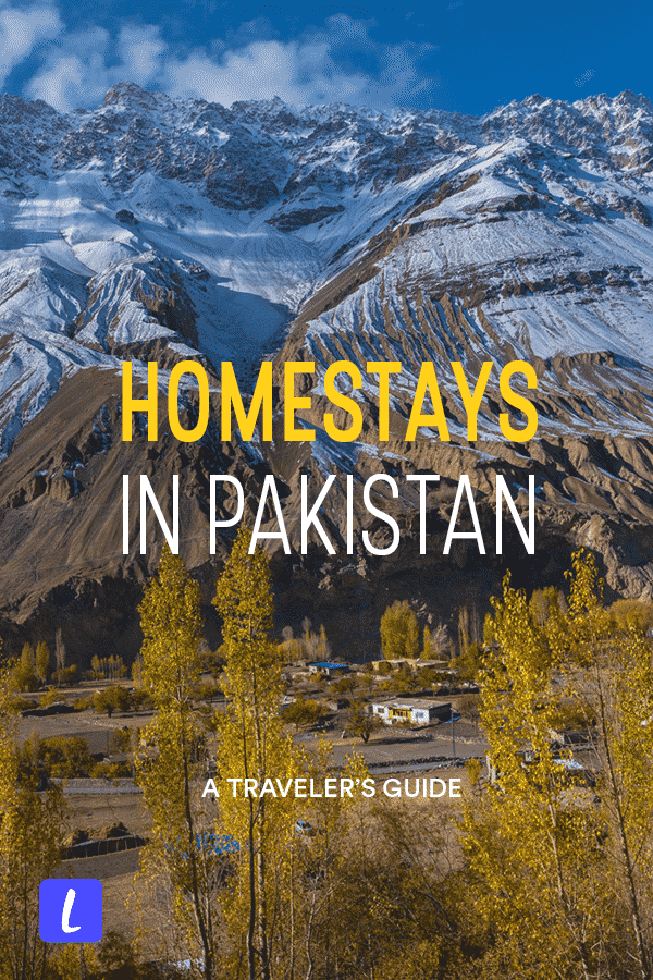 Looking for a homestay in Pakistan? Though homestays in Pakistan aren't so common, there are ways to find an authentic local home experience regardless. Here is a travel guide for finding homestays in Pakistan, including where to find homestays, best homestays, responsible travel tips, and homestay recommendations.