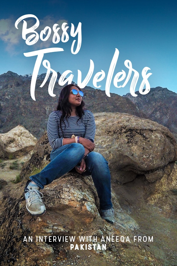 Traveling as a solo female in Pakistan can be intimidating... especially if you're from the country! But Aneeqa, head of Pakistan's first female-run tour company, proves that local women can travel the country, too, solo or otherwise. Read on for an interview with the bold traveler about her journey to starting a company, love for travel, and advice for other women looking to do the same.