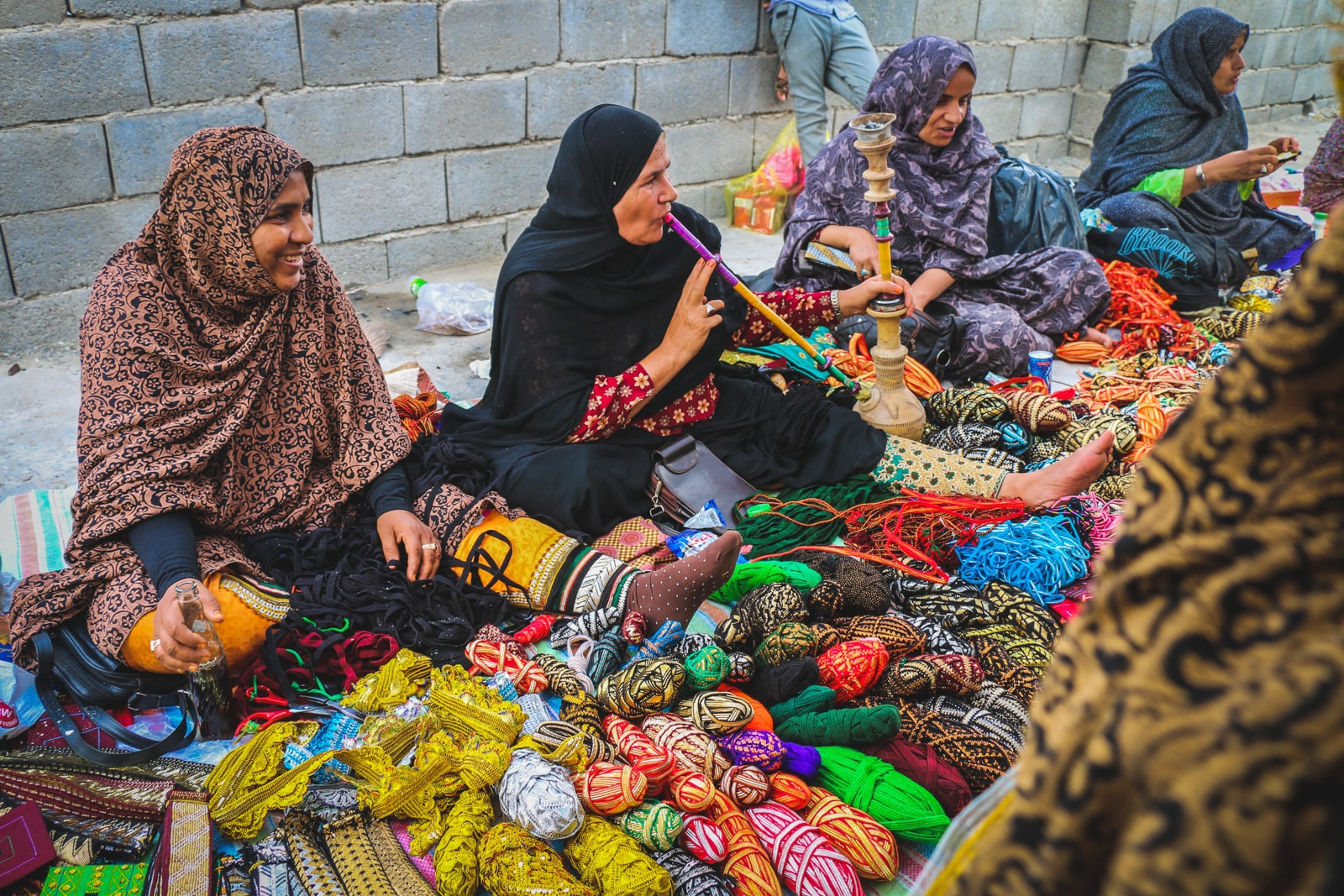 Interview with a tour leader and female travel blogger from Iran - Minab Thursday Market by Matin