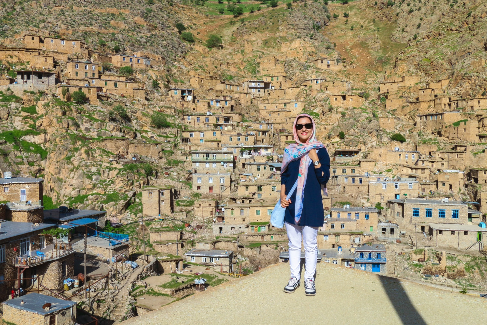 Interview with a tour leader and female travel blogger from Iran - Matin in Kurdistan