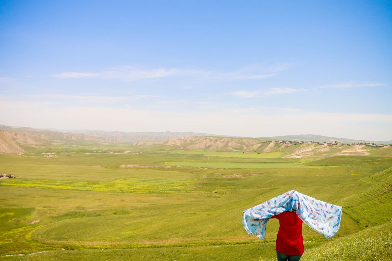 Interview with a tour leader and female travel blogger from Iran - Matin in Golestan, Iran