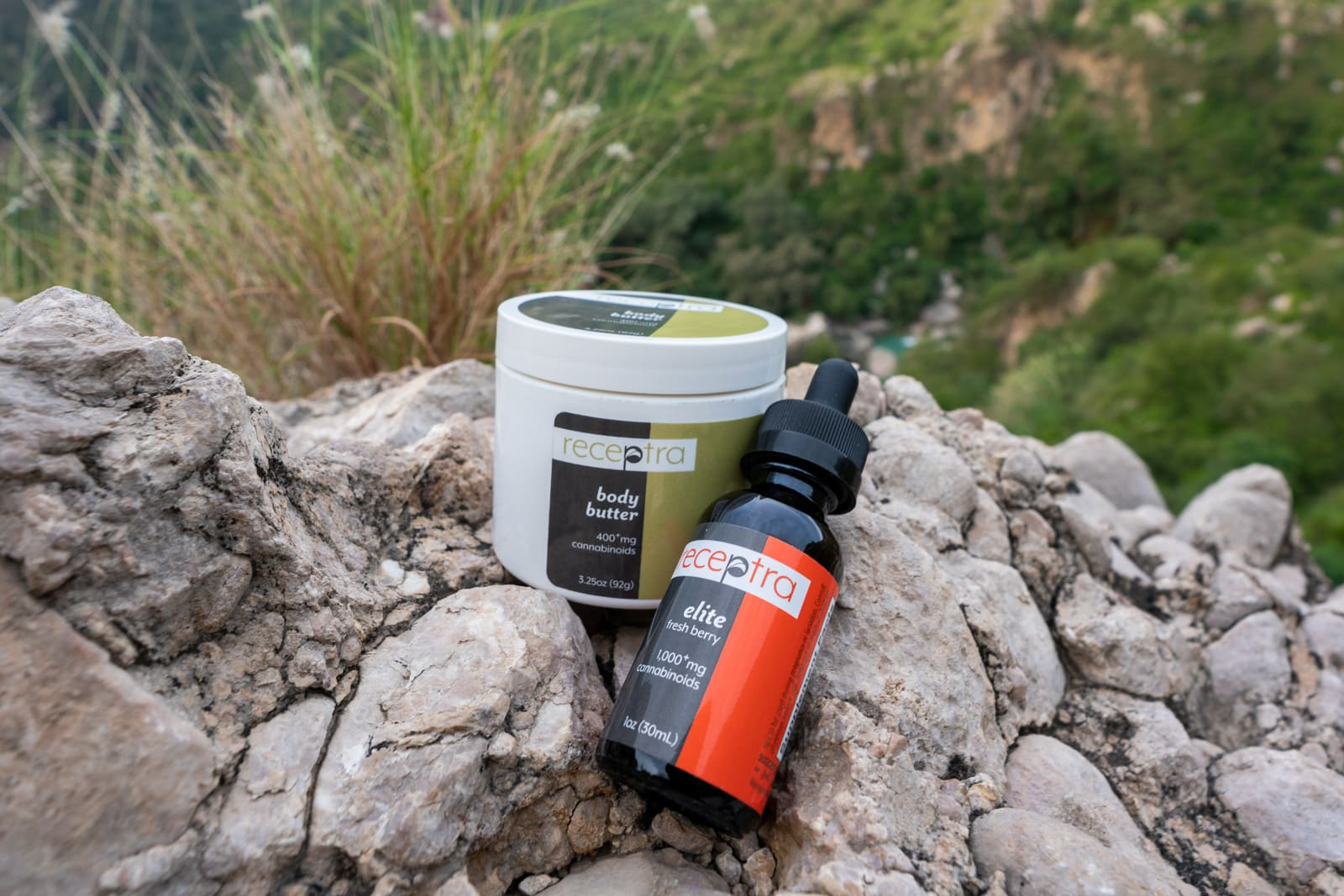 Review of Receptra Naturals CBD oil - Oil and body butter - Lost With Purpose travel blog
