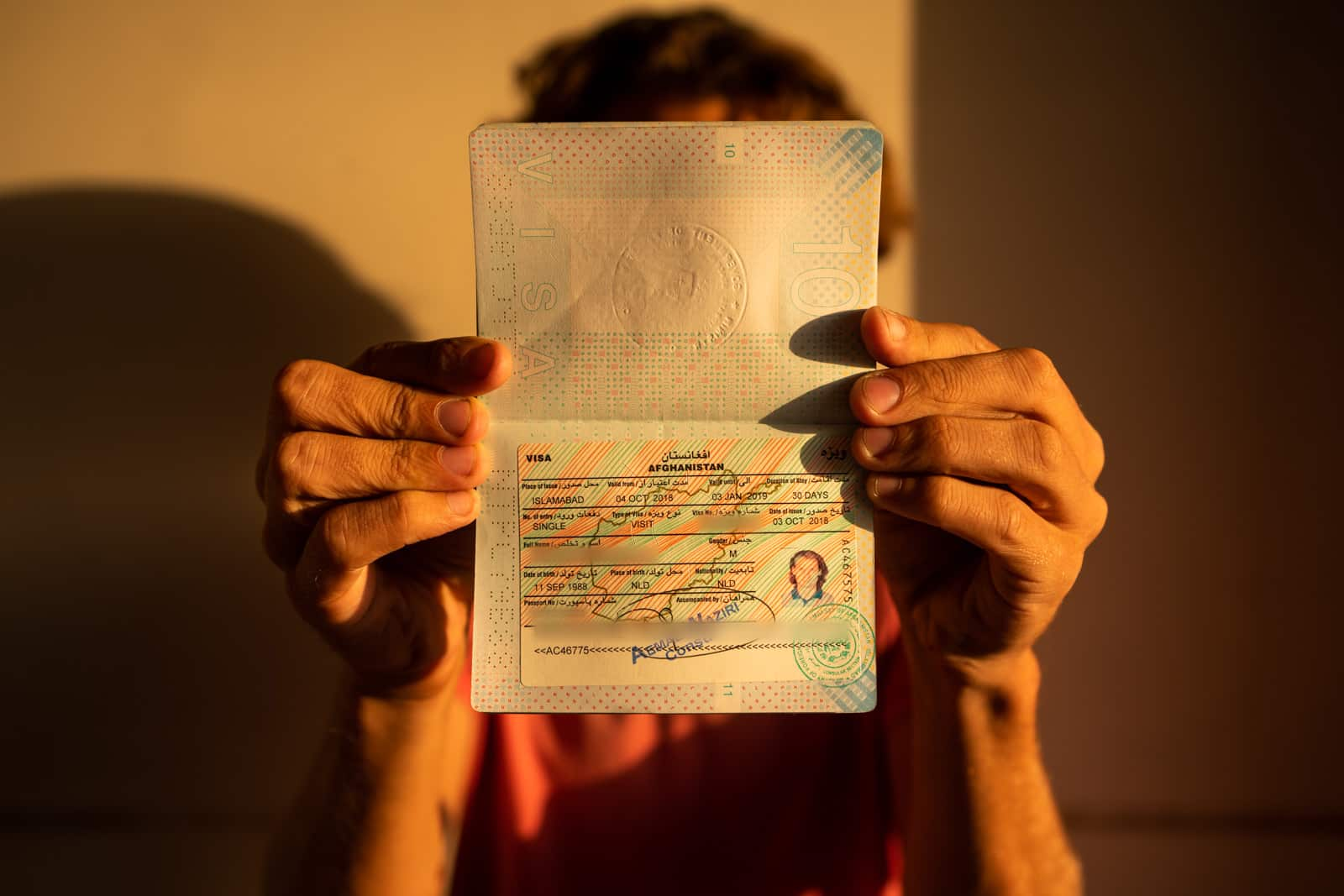 Applying For A Afghan Visa In Islamabad Lost With Purpose Travel Blog