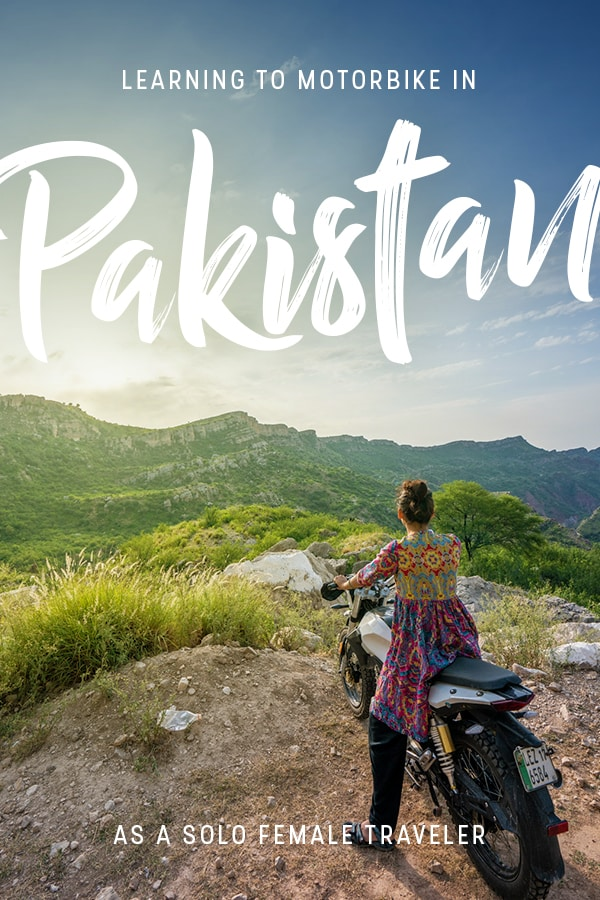 A solo female traveler afraid of bikes learning to motorbike in a wildly conservative and patriarchal country... say what? Click through to learn how I conquered my fears—and cultural norms—and found a new passion in Pakistan.
