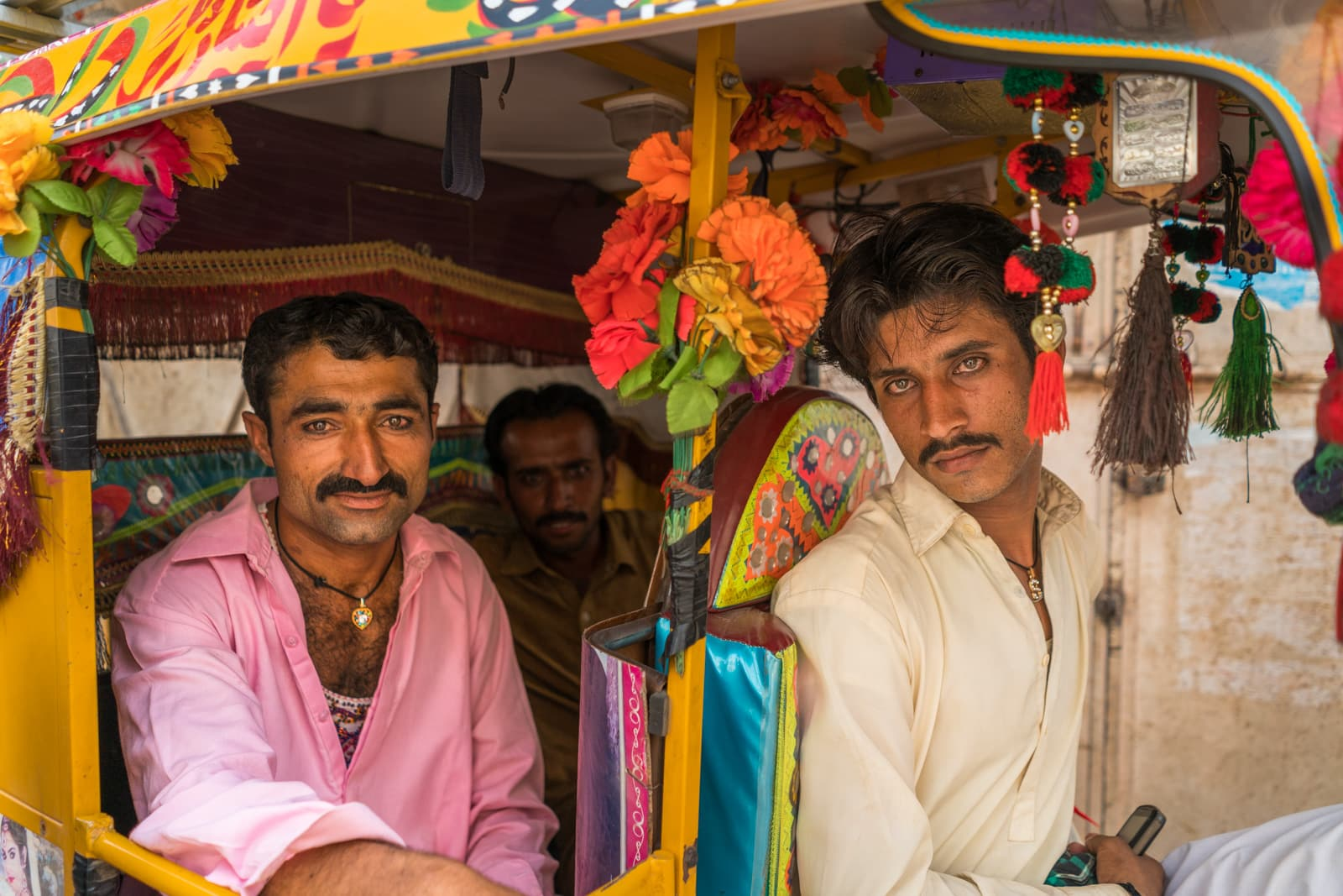Sindh travel guide - Sindhi men staring - Lost With Purpose travel blog