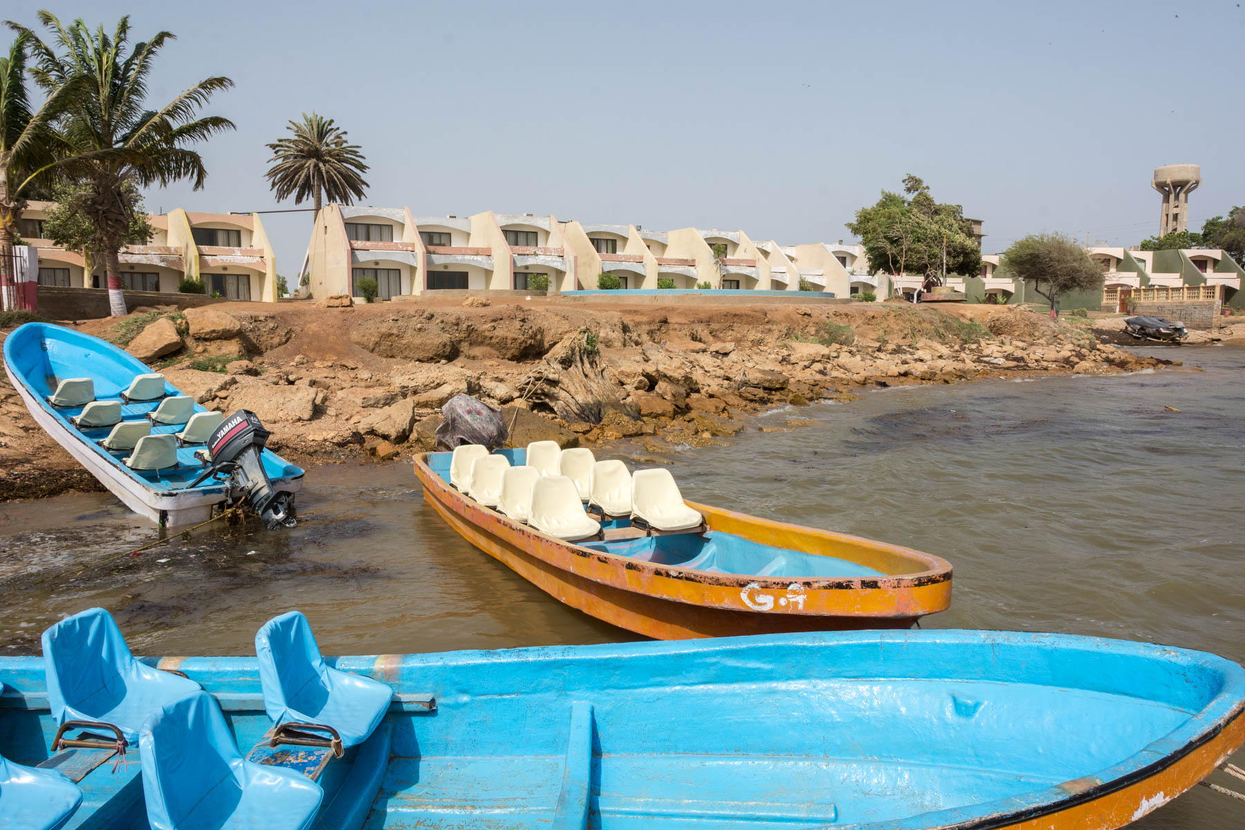 Sindh travel guide - Keenjhar lake boats - Lost With Purpose travel blog