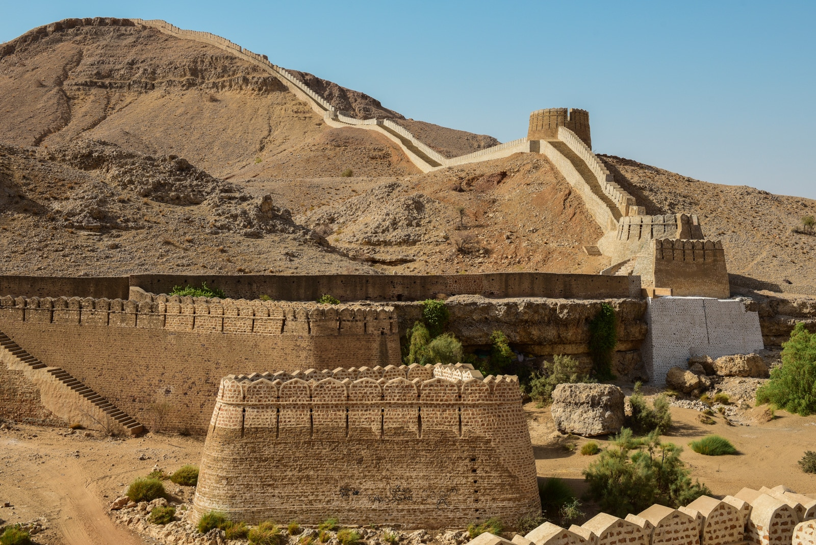 Sindh travel guide - Ranikot fort