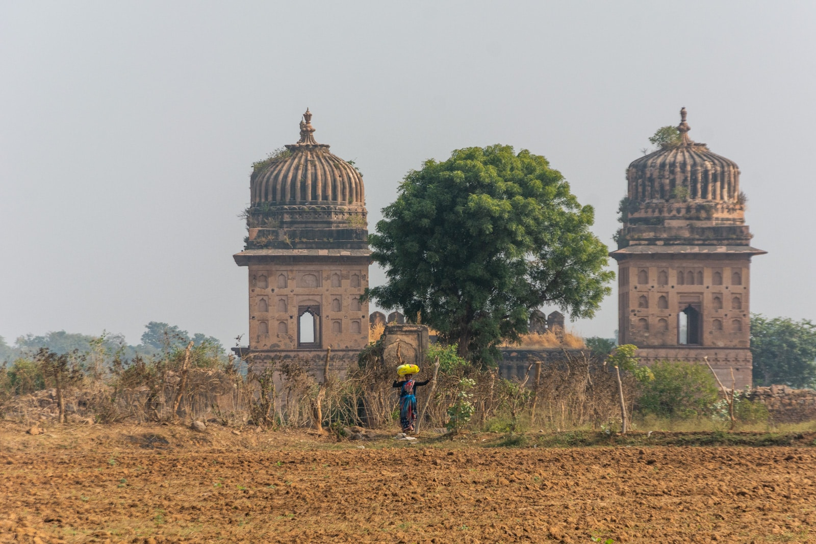 Countryside temple in Orchha - A quick guide to travel in Orchha - Lost with Purpose travel blog