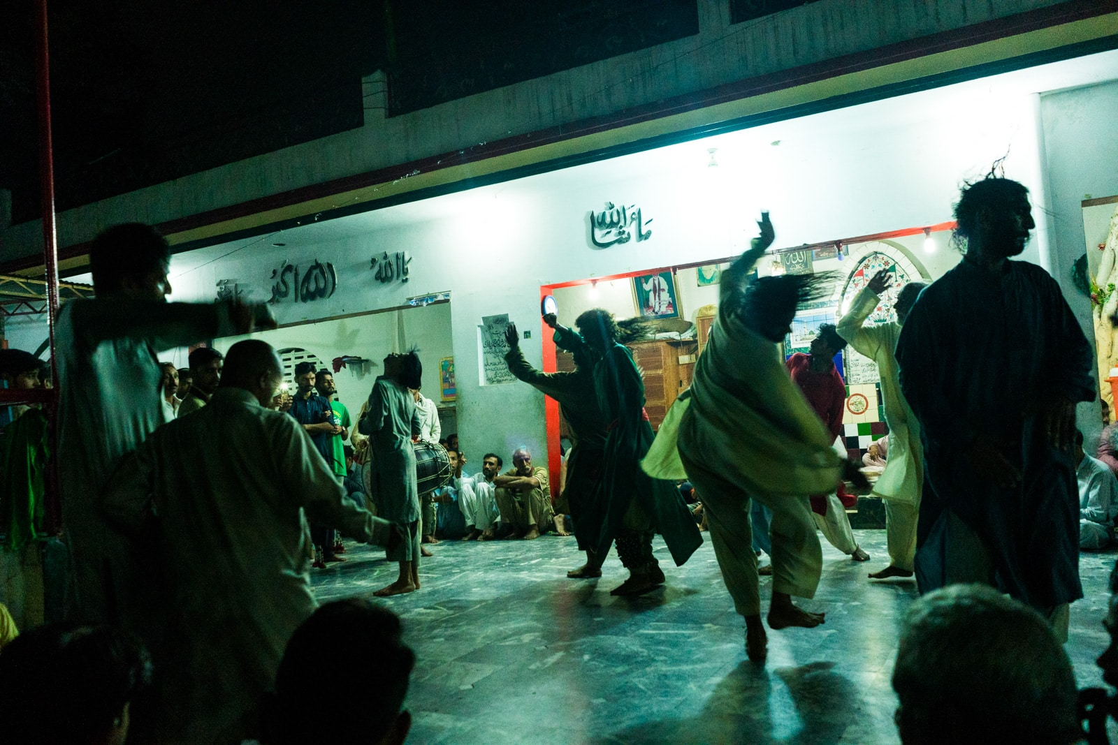 Where to see Sufi dhamal in Lahore, Pakistan - Melangs dancing at the shrine of Mauj Darya - Lost With Purpose travel blog