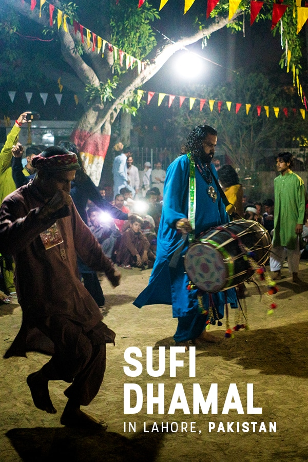Dhamal is a Sufi dance found throughout parts of Pakistan. If you're traveling to Pakistan, you have to see dhamal on Thursday night in Lahore. Here are a list of places where you can see dhamal in Lahore, Pakistan on Thursday nights, including a map.