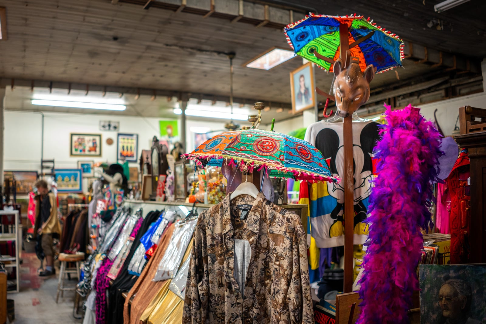 Second-hand shop in the Marigny neighborhood of New Orleans, Louisiana