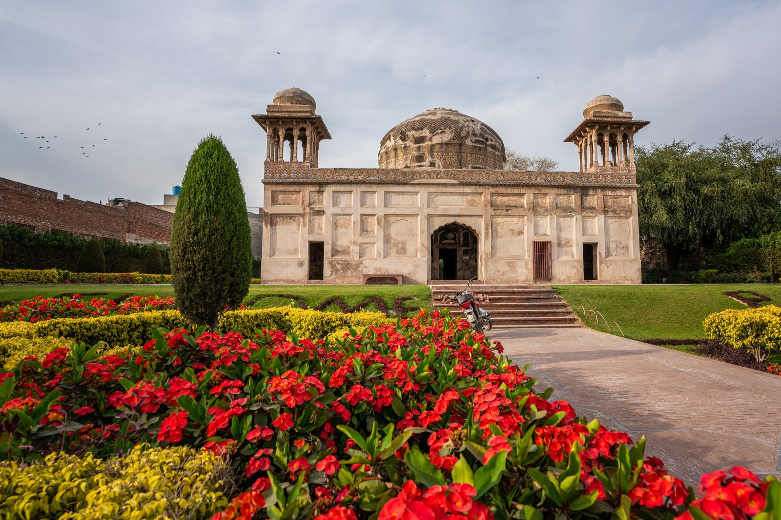 Offbeat things to do in Lahore - Mughal gardens around the tomb of Dai Anga in Lahore, Pakistan