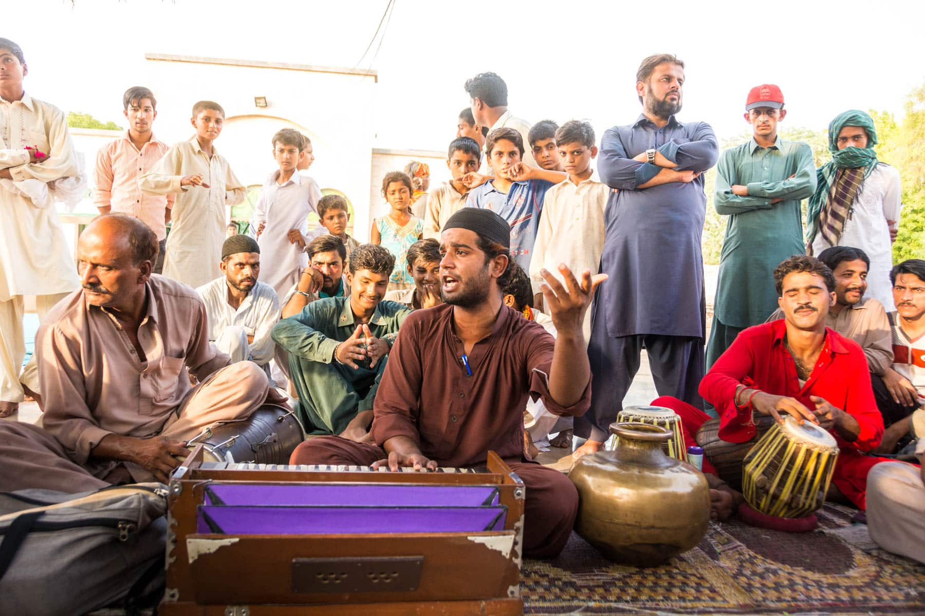 Day trips from Lahore, Pakistan - Sufi qawwali music at the shrine of Baba Bulleh Shah in Kasur, Pakistan