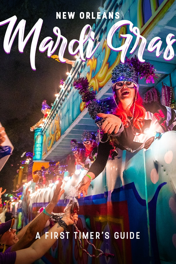 Going to New Orleans for Mardi Gras this year? Need to plan your trip for Mardi Gras? This first timer's guide has everything you need to know about celebrating Mardi Gras season in New Orleans, including offbeat tips, advice on where to stay in New Orleans, time and dates of Mardi Gras, what to pack, how to dress, best parades, and more. Click through for the inside scoop on what happens in New Orleans during Mardi Gras, based on my month of celebrating the season there.