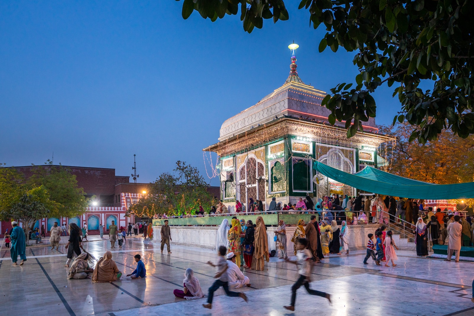 Mian Mir shrine in Lahore