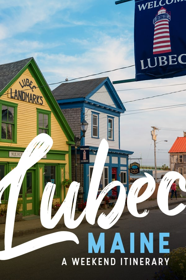Looking for an off the beaten track summer destination in Maine? Look no further than Lubec, Maine, the easternmost town on the US mainland. This weekend itinerary includes things to do, where to stay, best places to eat, and a map of attractions in Lubec, Maine. Click through for the perfect weekend itinerary for Lubec, Maine.
