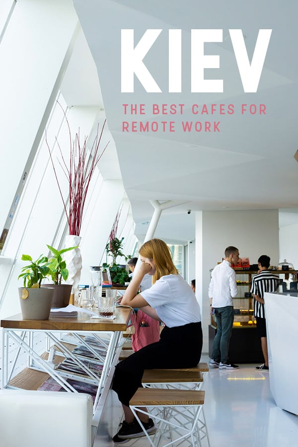 Are you a digital nomad looking for a cafe to work from in Kiev, Ukraine (also known as Kyiv)? Here's a list of the best cafes with wifi for remote working in Kiev, including a map and average costs for a cup of coffee. Your search is over!