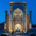Photos of Uzbekistan to convince you to travel to Uzbekistan - Gur-e-Amir during blue hour