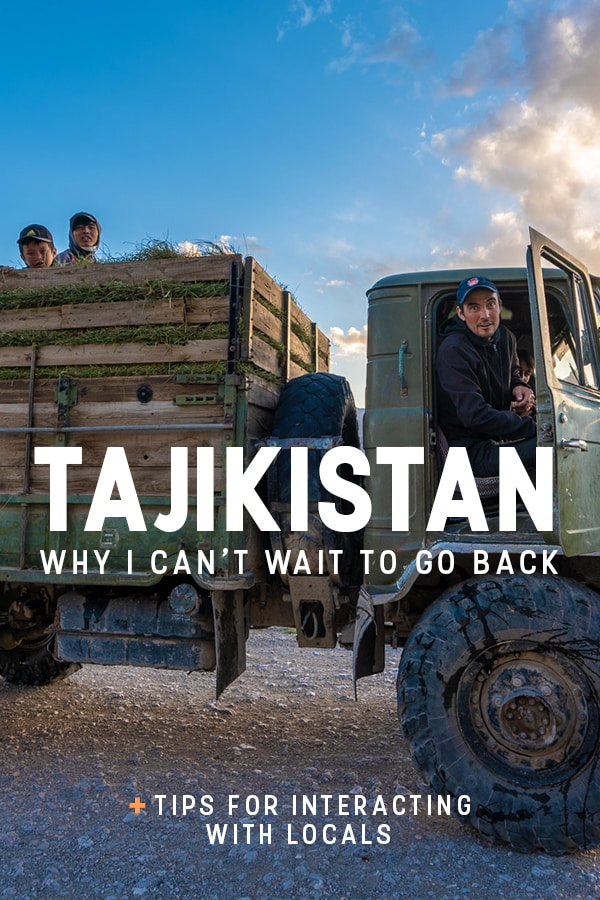 Is Tajikistan the best Central Asian stan country for travel? After backpacking in Tajikistan I think so, though that's my personal opinion. Here's why I recommend travelers visit Tajikistan, the most hospitable Central Asian country, plus tips on interacting with locals and making the most of your trip to Tajikistan.
