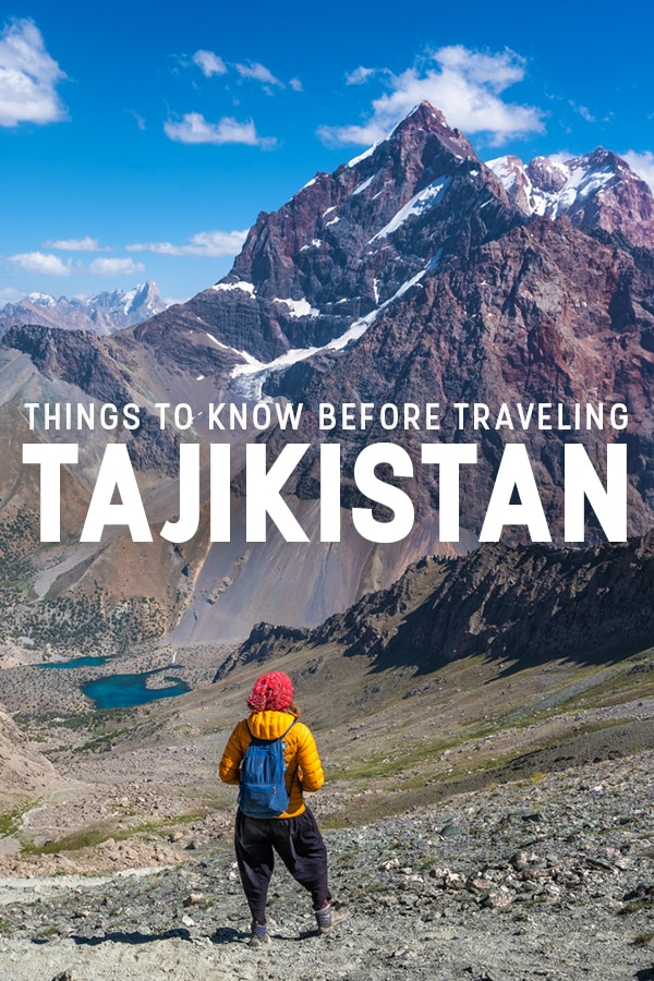 Planning to travel to Tajikistan in Central Asia? Here are 10 things you need to know before traveling to Tajikistan, including what to wear, what languages to learn, tips on bringing cash, staying safe and healthy, and more. Click through to learn what essential things you should do to prepare for travel in Tajikistan.